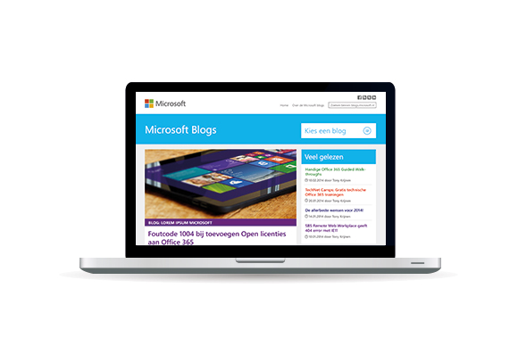 microsoft blogs design online