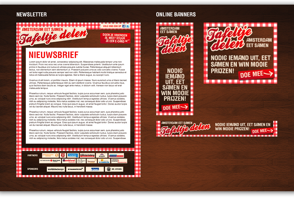 Rode Kruis Amsterdam - concept, design, print and online